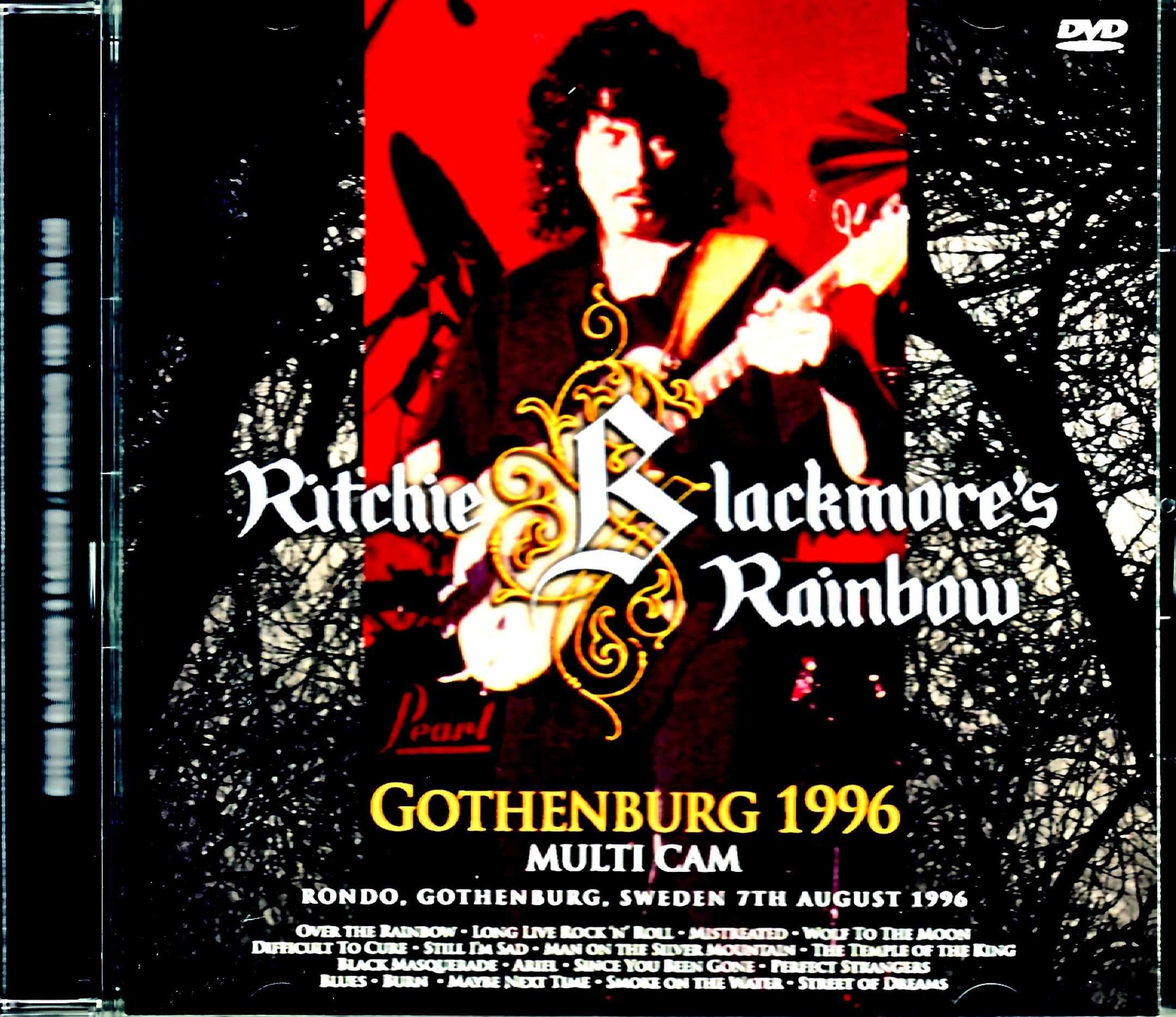 Ritchie Blackmore's Rainbow レインボー/Sweden 1996 Multi Cam