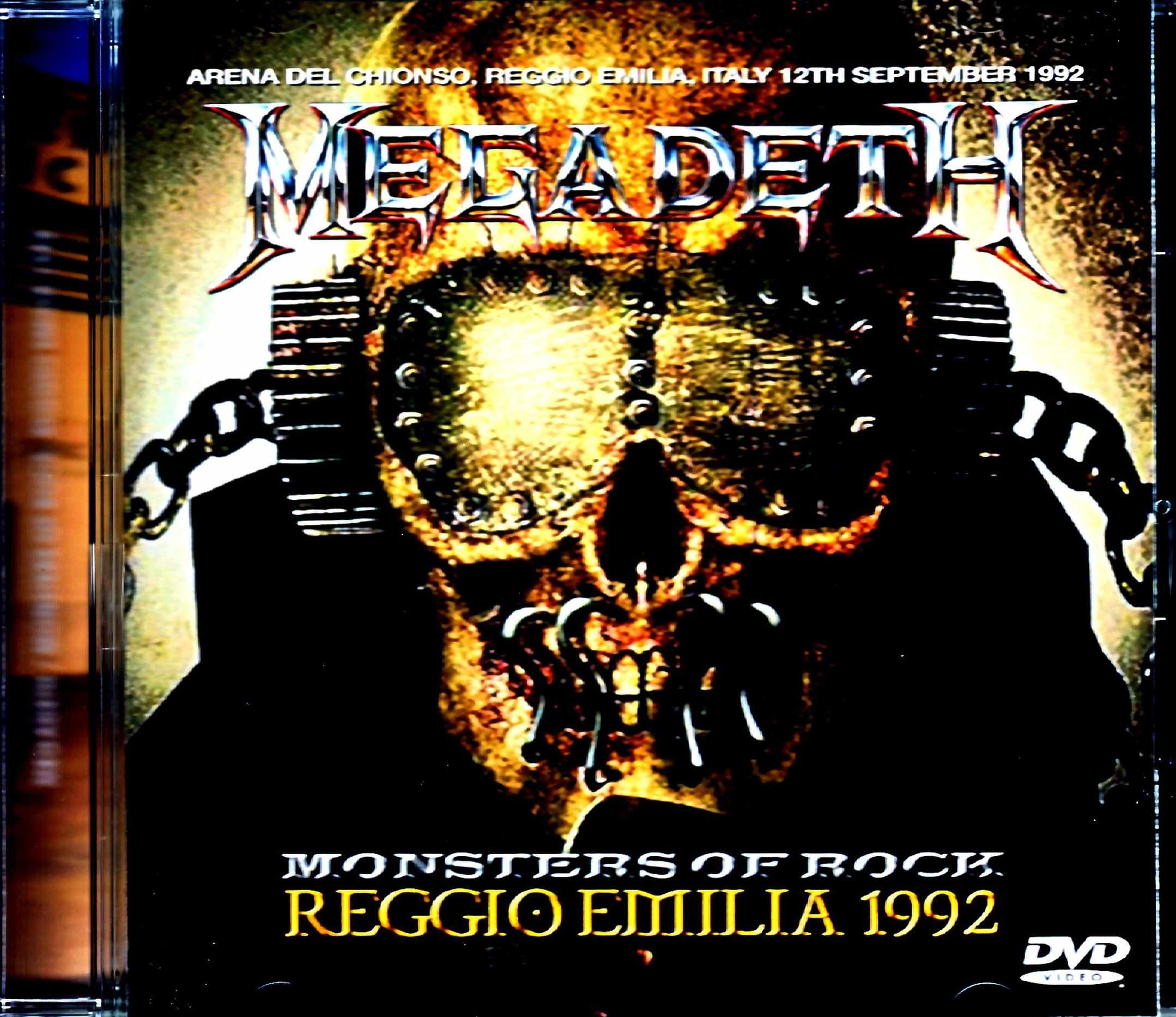 Megadeth メガデス/Italy 1992