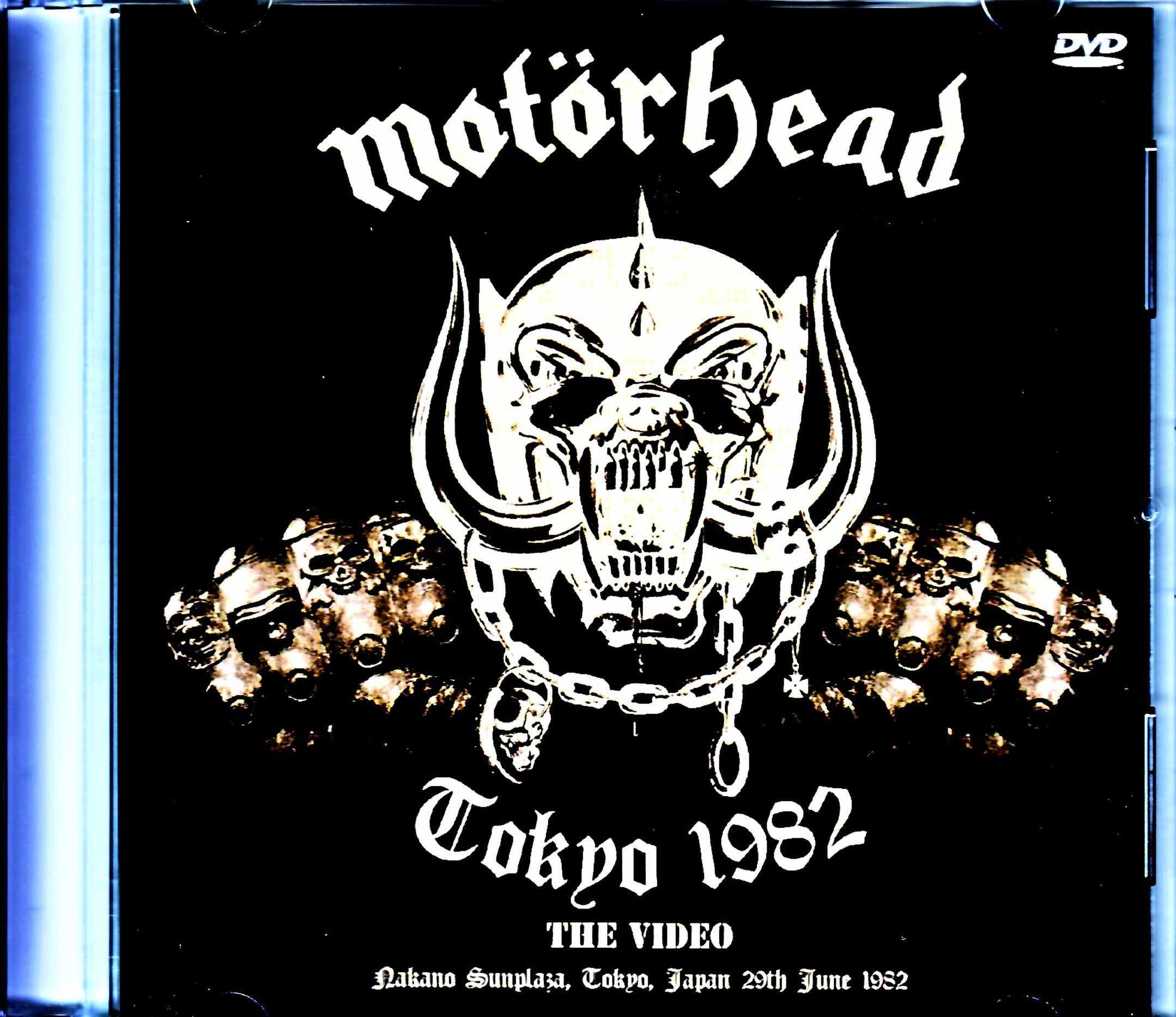 Motorhead モーターヘッド/Tokyo,Japan 6.29.1982