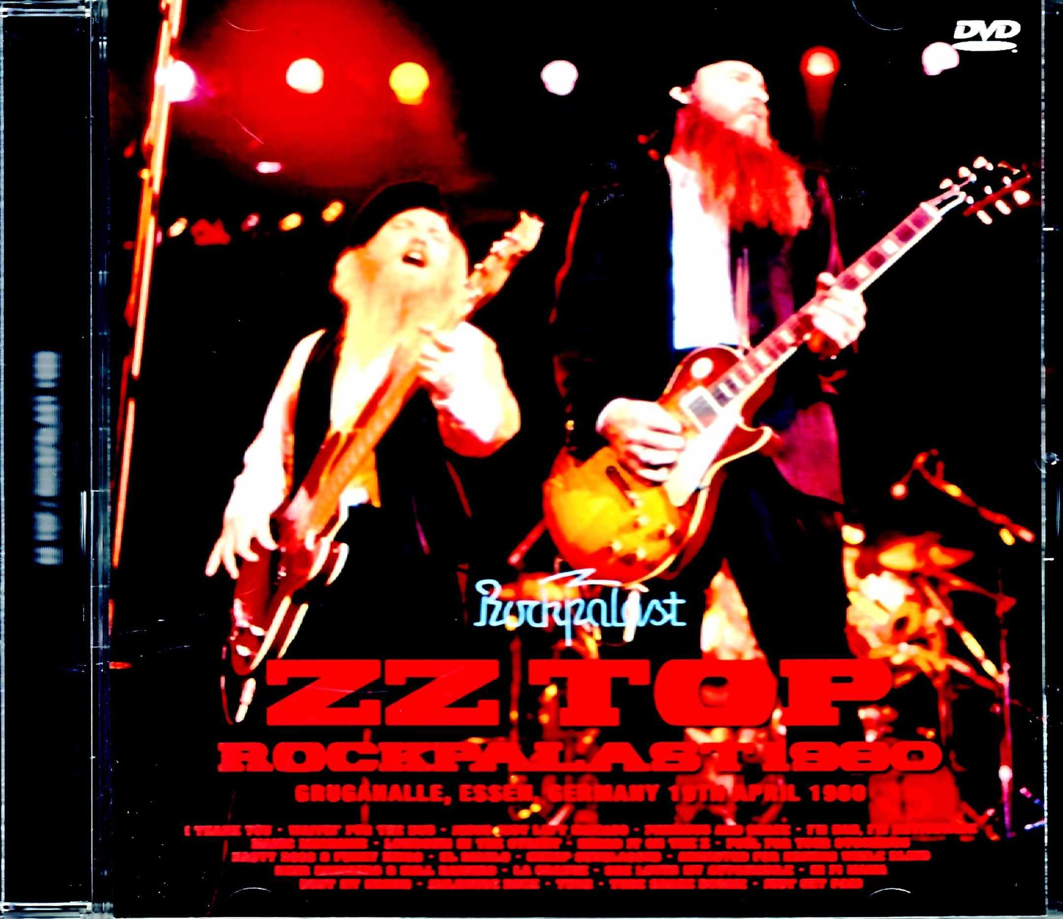 ZZ Top ZZ・トップ/Germany 1980