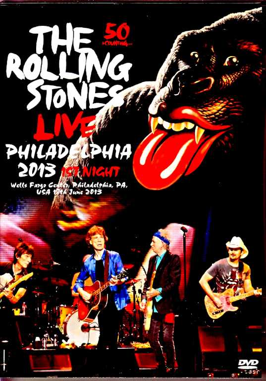 Rolling Stones ローリング・ストーンズ/PA,USA 6.18.2013