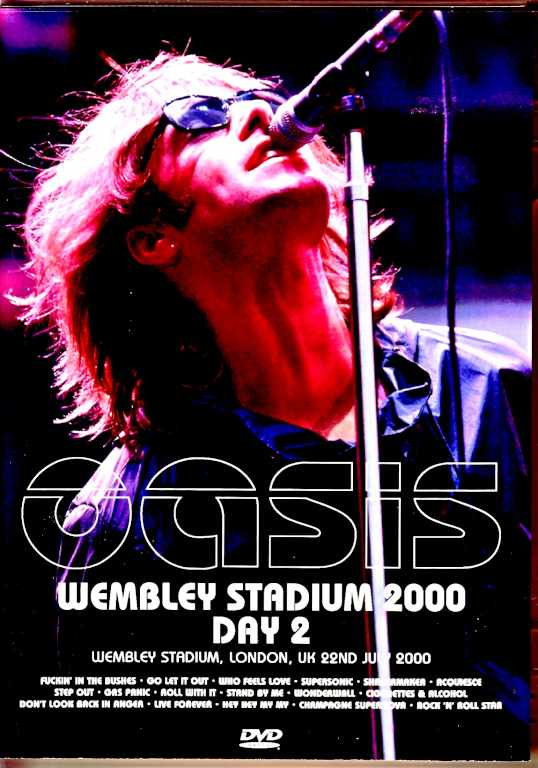 Oasis オアシス/London,UK 7.22.2000