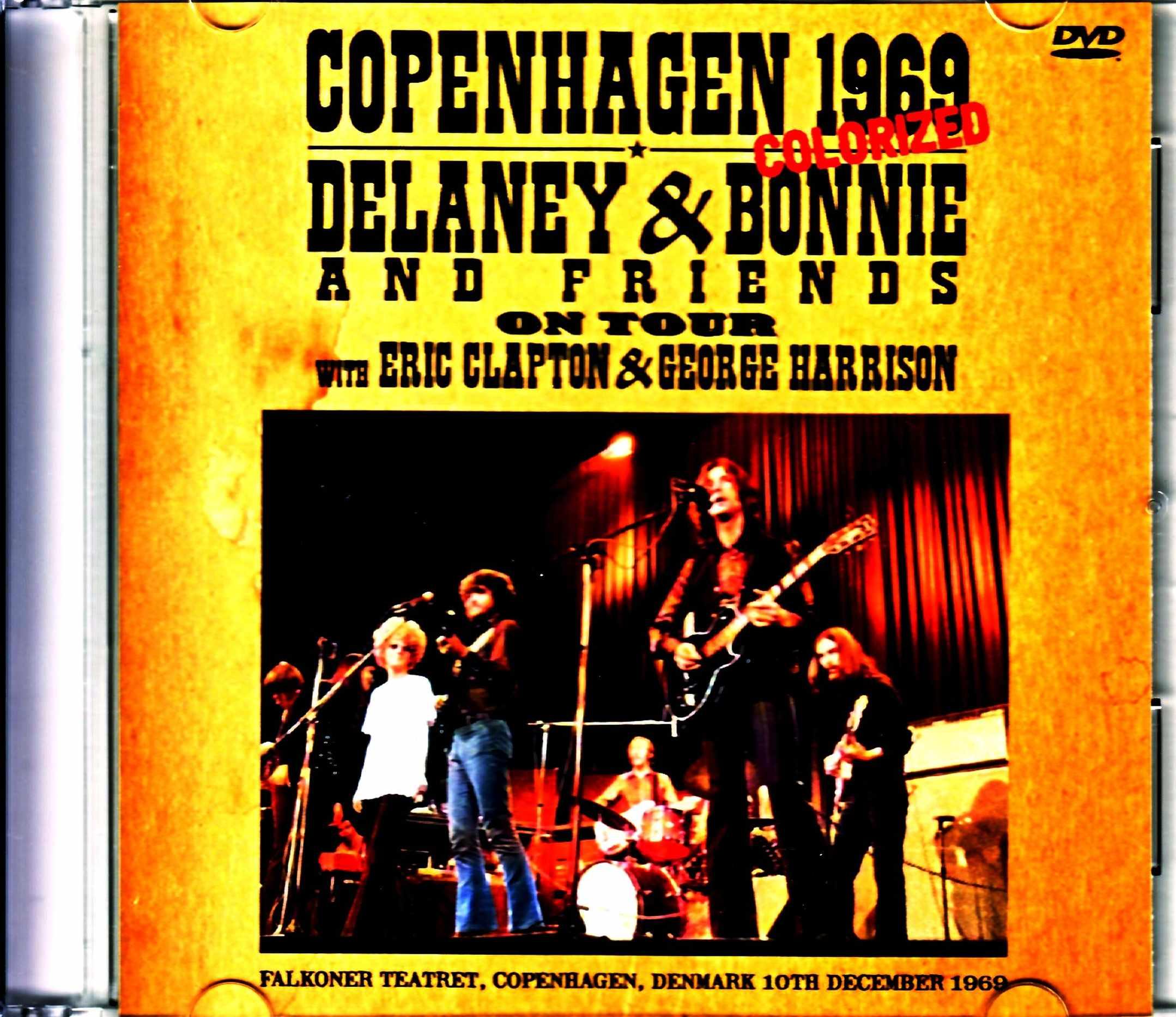 Delaney & Bonnie Eric Clapton,George Harrison デラニー・アンド・ボニー/Denmark 1969 Full Color Version