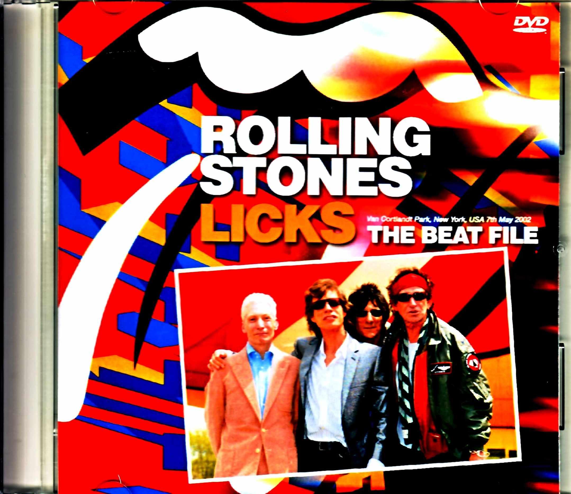 Rolling Stones ローリング・ストーンズ/The Beat File 傑作TV特番