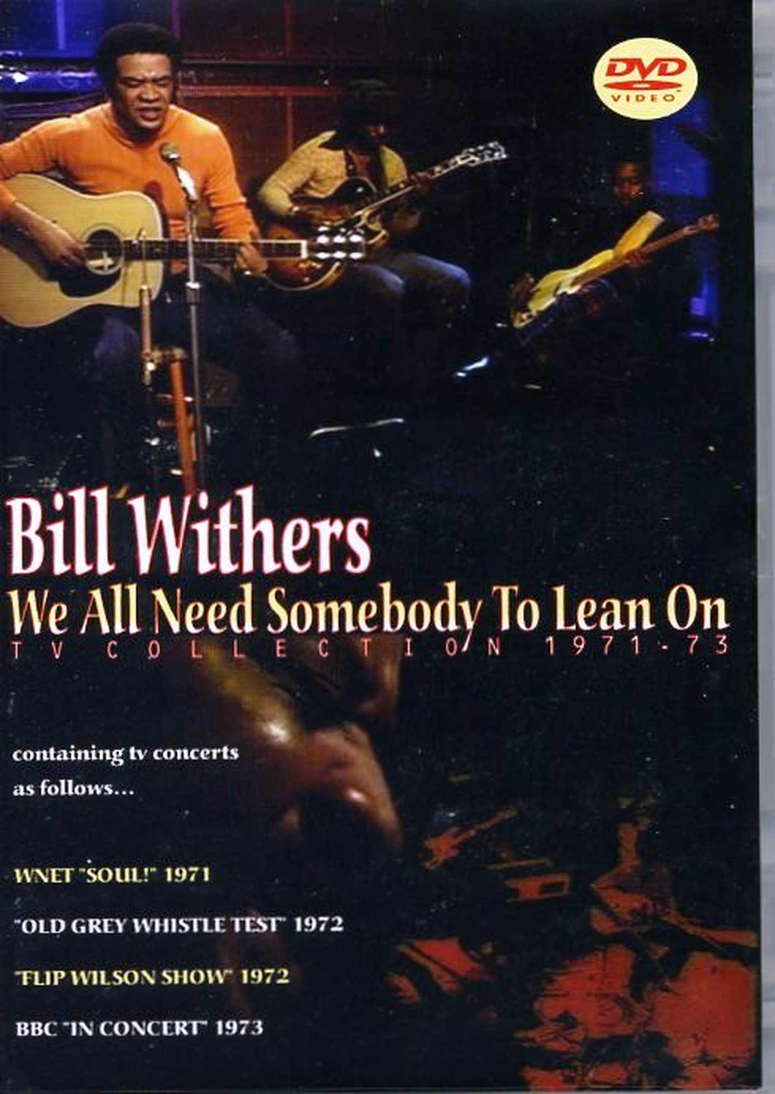 Bill Withers ビル・ウィザーズ/TV Collection 1971-1973