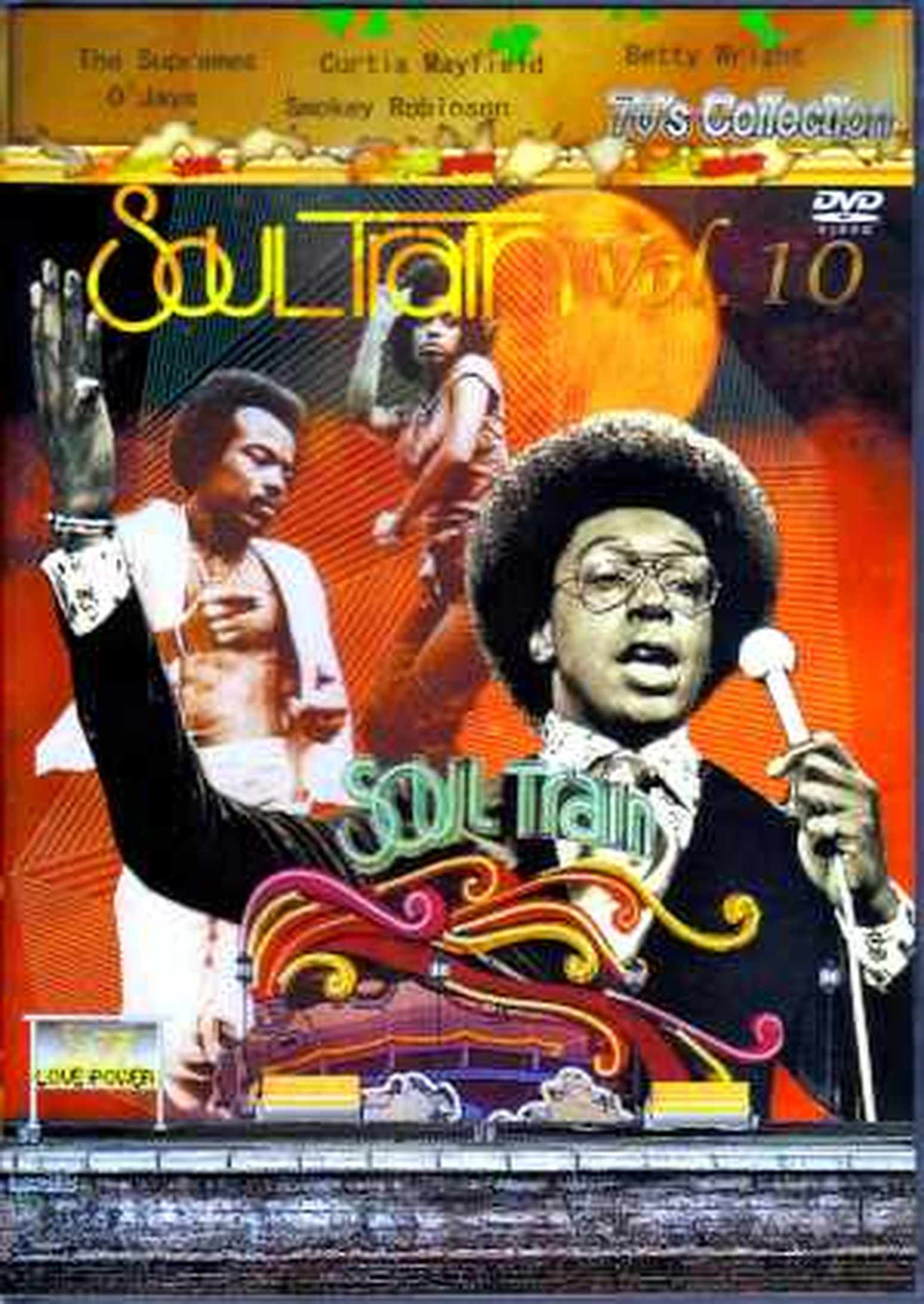 Various Artists Curtis Mayfield,O'Jays/SOul Train Vol10