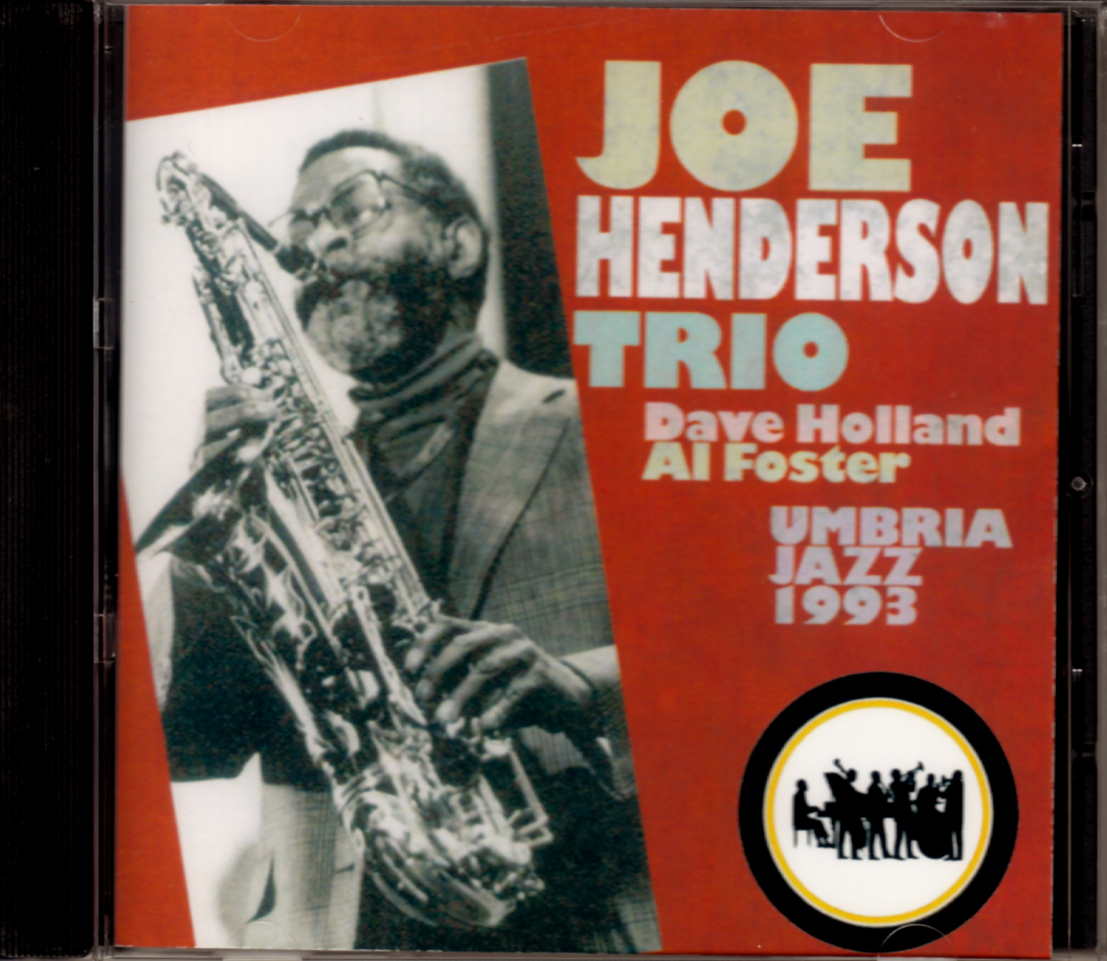 Joe Henderson,Dave Hollans ジョー・ヘンダーソン/Italy 1993