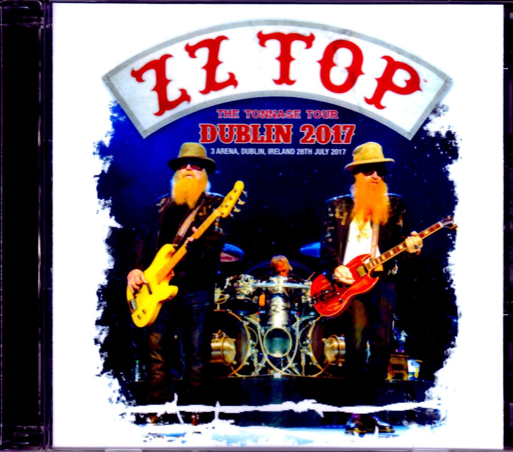 ZZ Top ZZ トップ/Ireland,UK 2017
