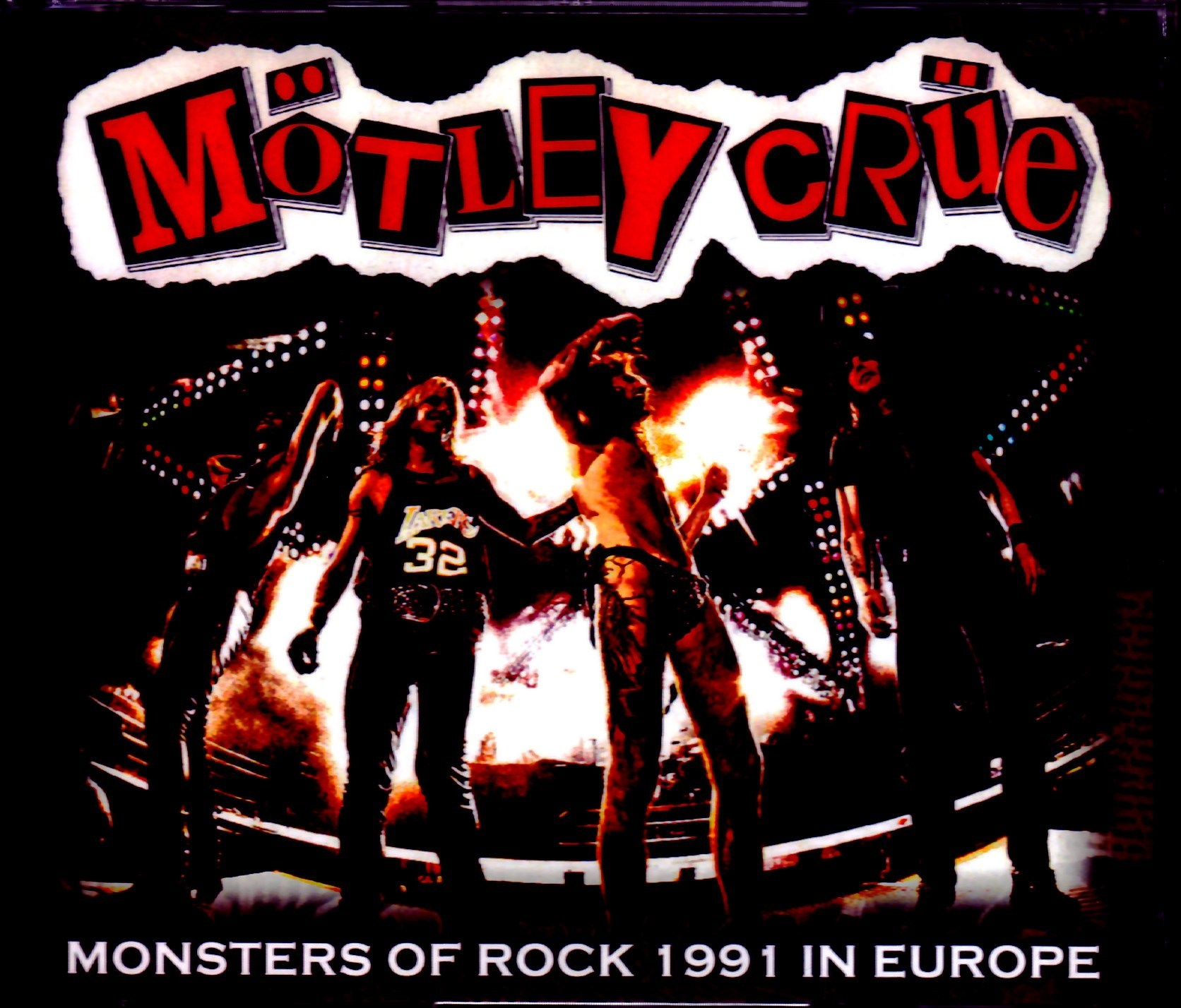 Motley Crue モトリー・クルー/Europe Tour Collection 1991