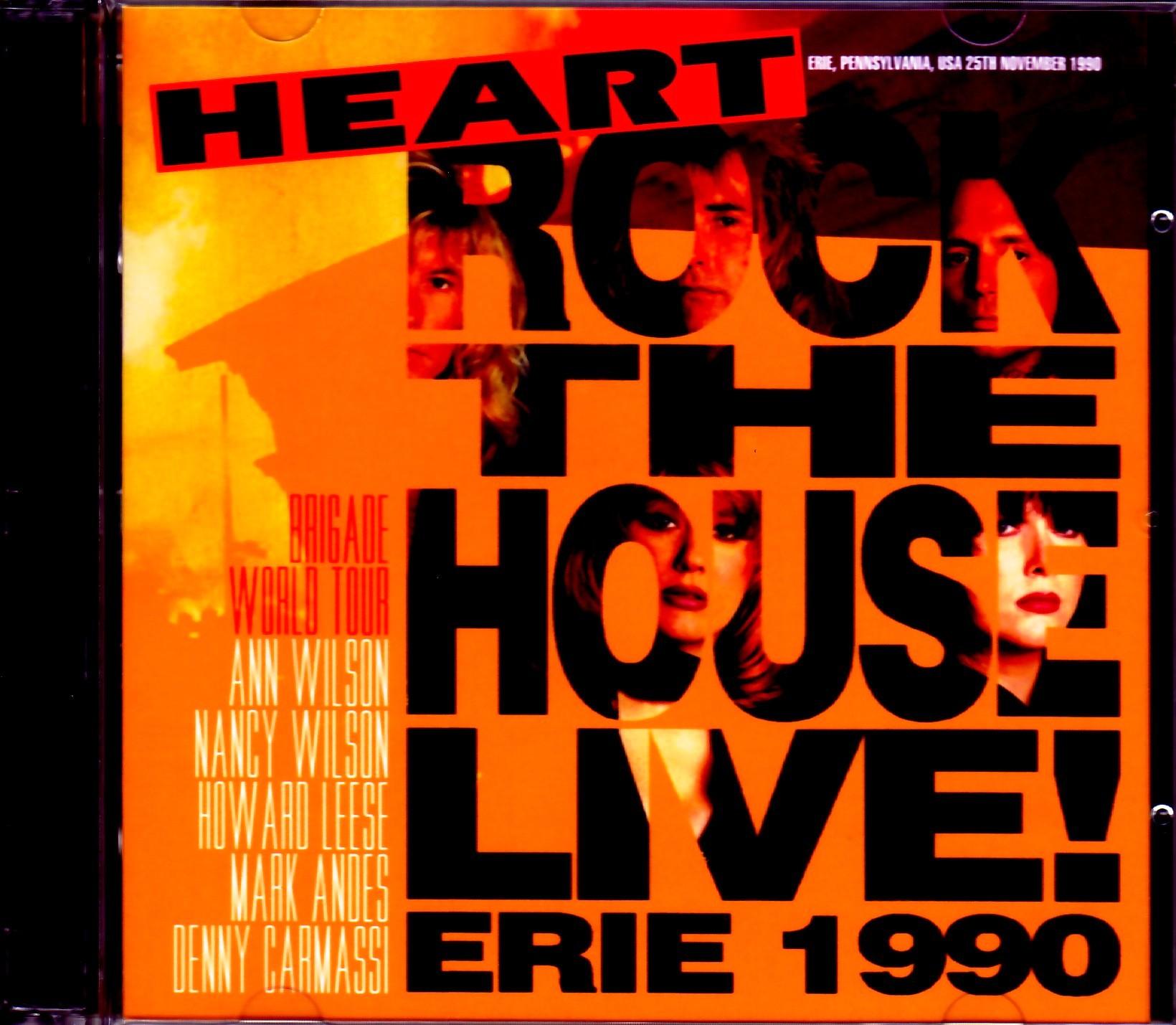 Heart ハート/PA,USA 1990
