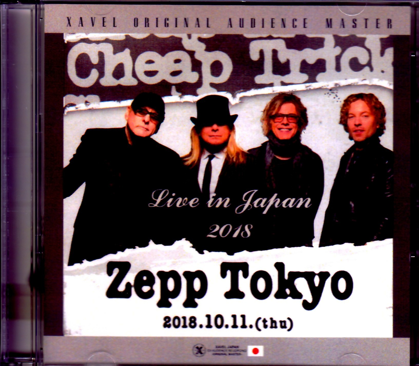 Cheap Trick チープ・トリック/Tokyo,Japan 2018