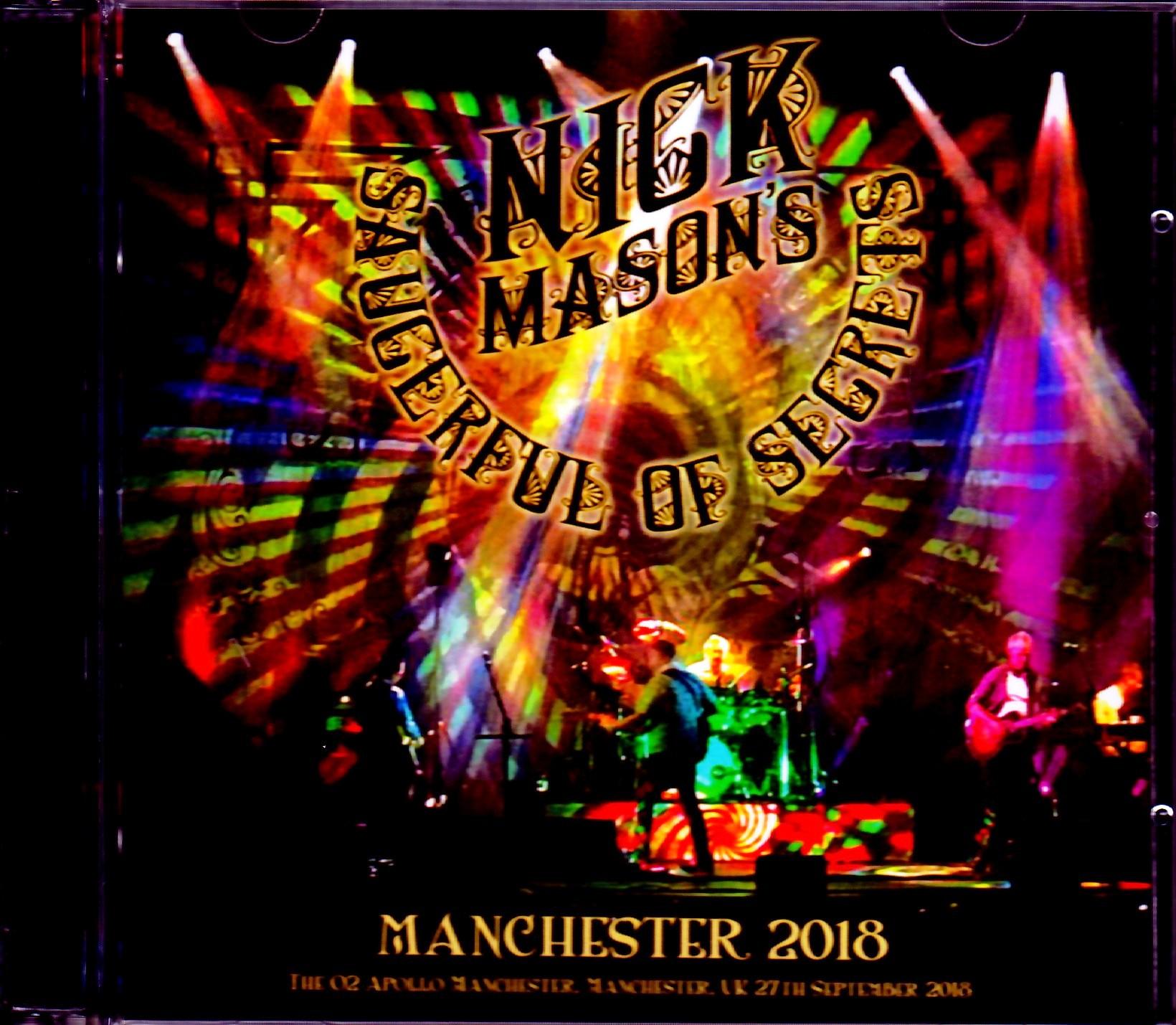 Nick Mason ニック・メイスン/Manchester,UK 2018