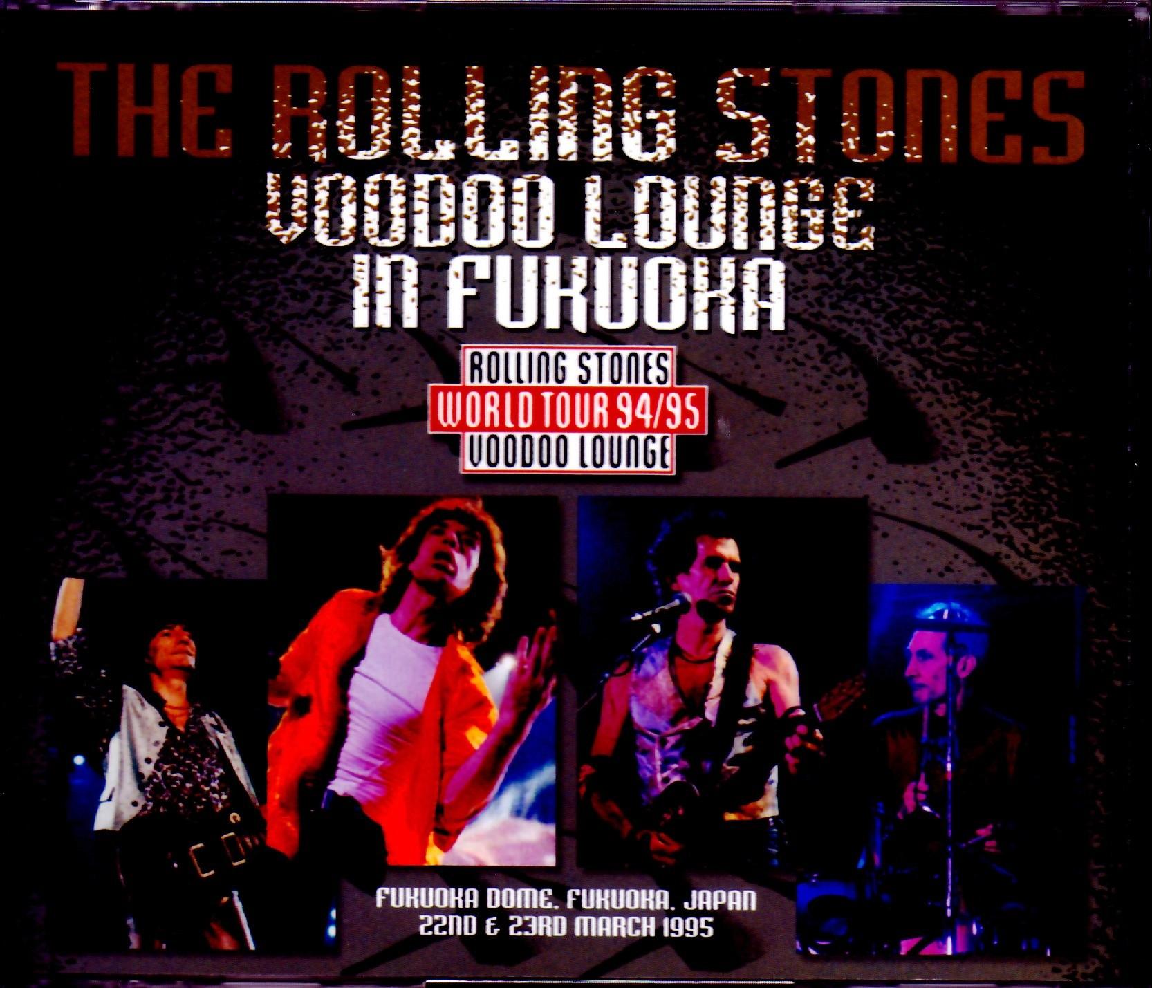 Rolling Stones ローリング・ストーンズ/Fukuoka,Japan 1995 2 Days