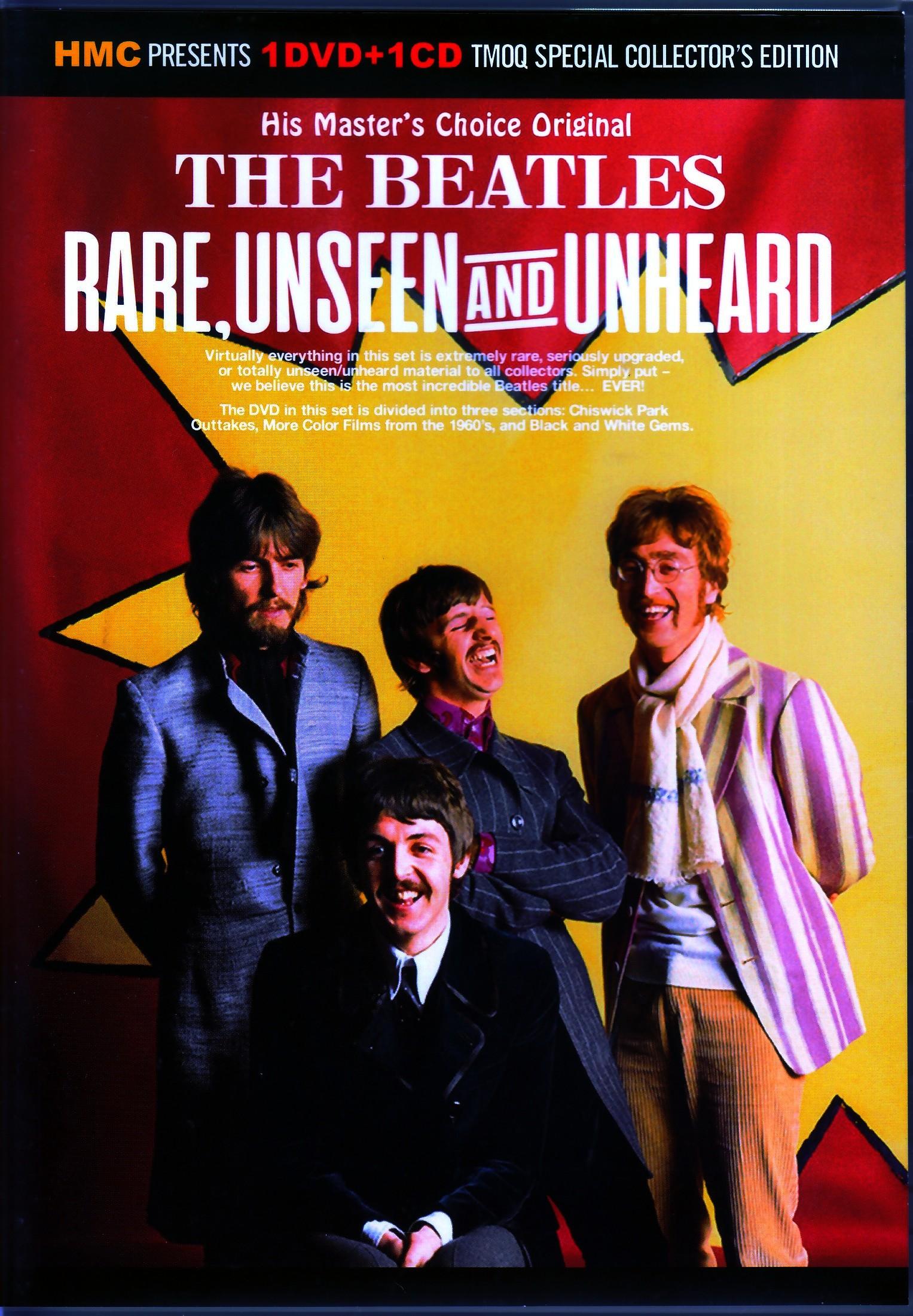 Beatles ビートルズ/Rare Unseen and Unheard