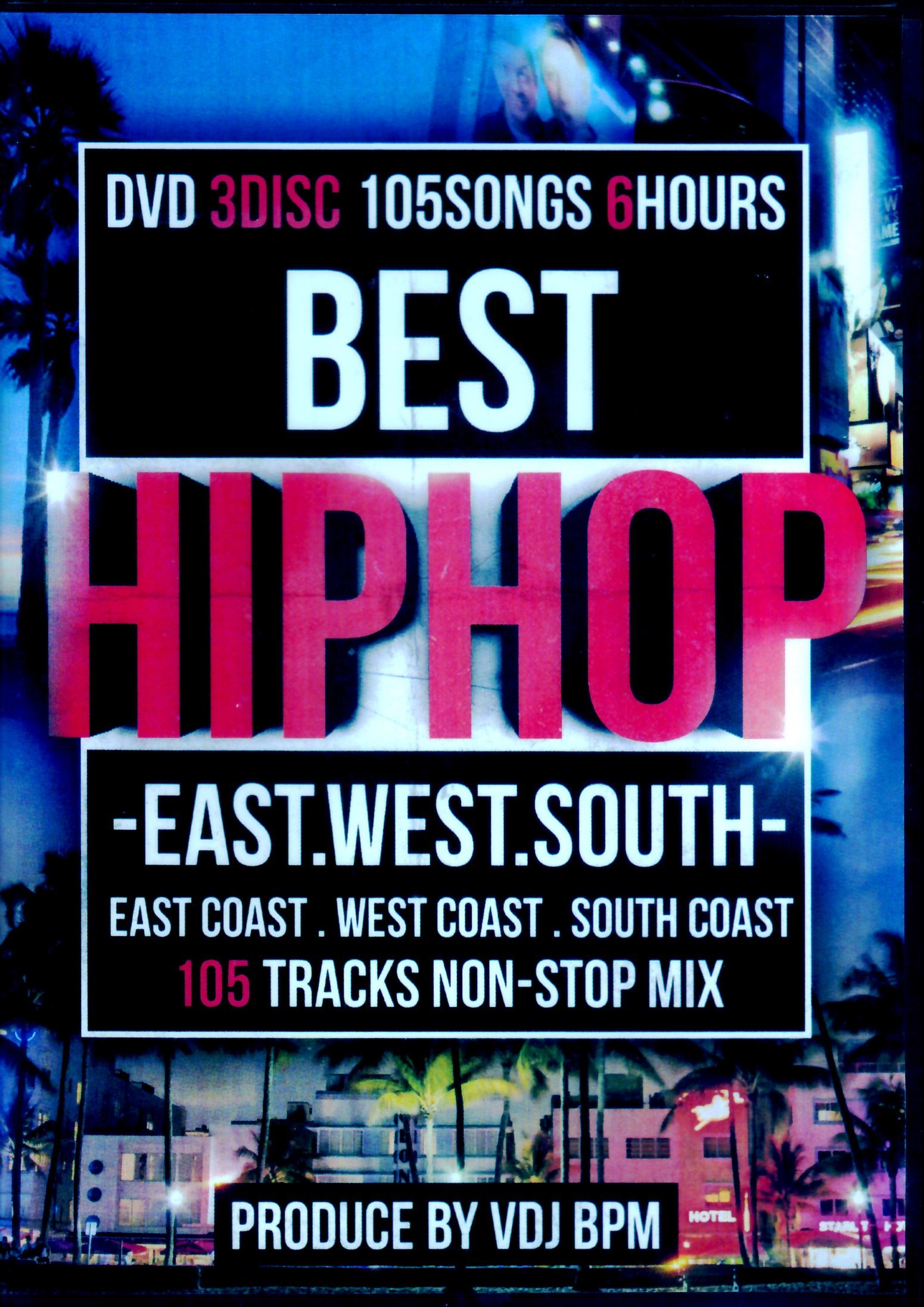 Various Artists 2Pac,Jay-Z,Ice Cube,Snoop Dogg/Best Hip Hop East,West,South
