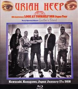 Uriah Heep ユーライア・ヒープ/Kanagawa,Japan 1.17.2016 Blu-Ray Version