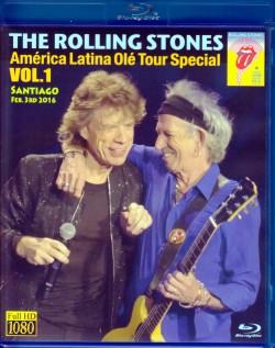 Rolling Stones ローリング・ストーンズ/Chile 2016  Blu-Ray Version
