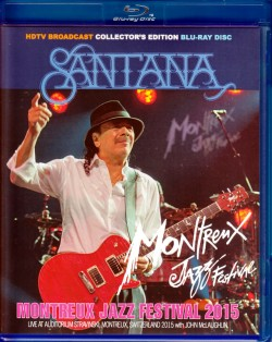 Santana,John McLaughlin サンタナ/Switerland 2015 Blu-Ray Version
