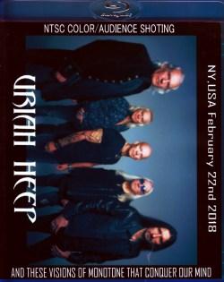 Uriah Heep ユーライア・ヒープ/NY,USA 2018 Blu-Ray Ver.