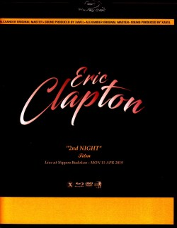 Eric Clapton エリック・クラプトン/Tokyo,Japan 4.15.2019 Blu-Ray & DVD Ver