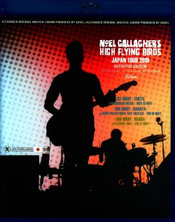 Noel Gallagher's High Flying Birds ノエル・ギャラガー/Japan Tour 2019 3 Days Complete Blu-Ray IEM Matrix Ver.
