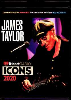 James Taylor ジェームス・テイラー/NY,USA 2020 & more Blu-Ray Version