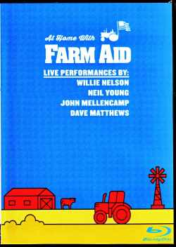 Various Artists Niel Young,Dave Matthews,John Mellencamp,Willie Nelson/At home 2020  Blu-Ray Version
