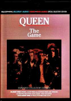 Queen クィーン/ザ・ゲーム The Game Blu-Ray &DVD Expanded Collector's Edition