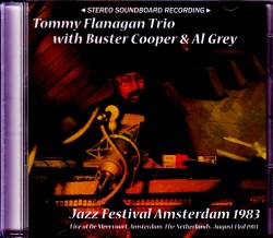 Tommy Flanagan Trio トミー・フラナガン/Netherlands 1983
