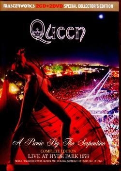 Queen クィーン/London,UK 1976 Newly Remastered 2 Screens & Extras