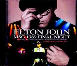 Elton John エルトン・ジョン/NY,USA 10.7.1989