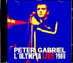 Peter Gabriel ピーター・ガブリエル/France 1980