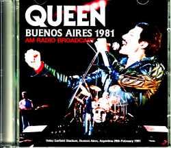 Queen クィーン/Argentina 1981 AM Radio Broadcast Edition