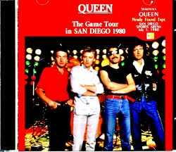 Queen クィーン/サンディエゴ公演 1980年 CA,USA 7.5.1980
