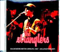 Stranglers ストラングラーズ/London,UK 3.30.1987
