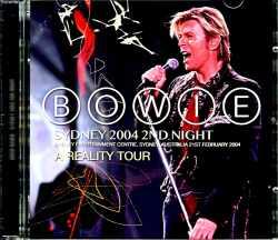 David Bowie デビッド・ボウイ/Australia 2.21.2004