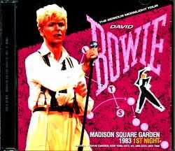 David Bowie デビッド・ボウイ/NY,USA 7.25.1983