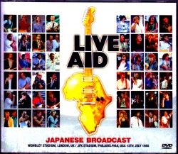 Various Artists Sting,Black Sabbath,Queen,U2,Elton John,Madonna/London,UK 1985 Japan Broadcast