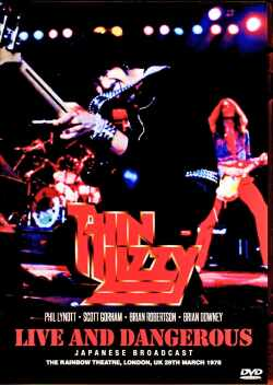 Thin Lizzy シン・リジィ/London,UK 1978 Japanese Broadcast Edition