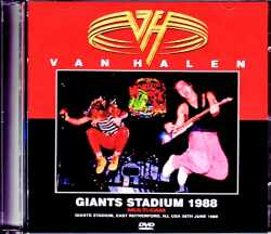Van Halen ヴァン・ヘイレン/NJ,USA 1988 & more