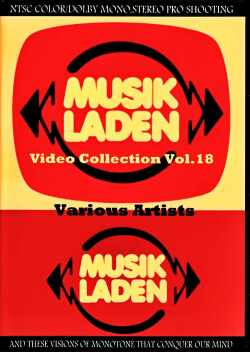Various Artists Madness,PoliceRobert Palmer,Specials,Marianne Faithfull,Knack/Musik Laden Video Collection Vol.18