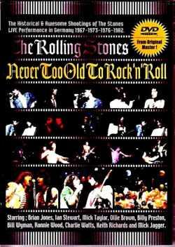 Rolling Stones ローリング・ストーンズ/8mm 歴史的秘蔵オーディエンス映像集 1967-1982