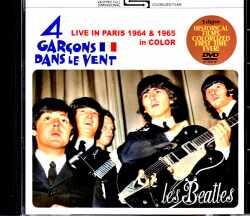 Beatles ビートルズ/ライヴ・イン・パリ カラー版 France 1964 & 1965 Color Edition