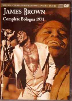 James Brown ジェームス・ブラウン/Italy 1971