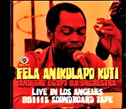 Fela Kuti and the Egypt 80 Orchestra フェラ・クティ/CA,USA 1986