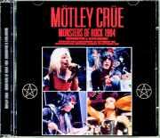 Motley Crue モトリー・クルー/UK 1984 & more