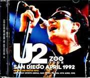 U2 ユーツー/CA,USA 4.15.1992 Mike Millard Master Tapes