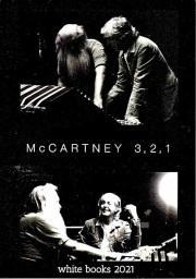 Paul McCartney ポール・マッカートニー/3,2,1 White Books 2021