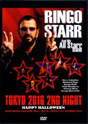 Ringo Starr & His All Starr Band リンゴ・スター/Tokyo,Japan 10.31.2016 Dual Layer Ver. +