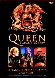 Queen,Adam Lambert クィーン アダム・ランバート/Saitama,Japan 1.26.2020 Synched with Excellent Audio Recordings